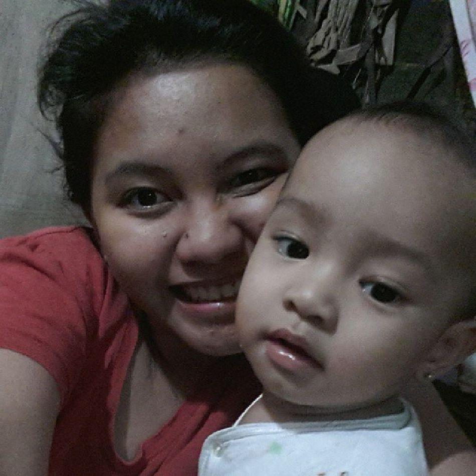 Good Afternoon Po!! Baby Gigil Mothermode Motherduties iloveher bunso cutebabies babies