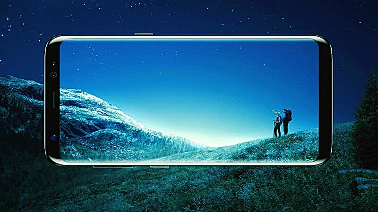 SAMSUNG GALAXY S8 Wireless Technology Technology Communication Smart Phone Portable Information Device One Person Connection Mountain Scenics Adventure Day Nature Outdoors Adults Only One Man Only People Sky Only Men Adult Samsung Galaxy S7 Edge Samsung Tab E Samsungphoto Samsungphotography First Eyeem Photo Tablet
