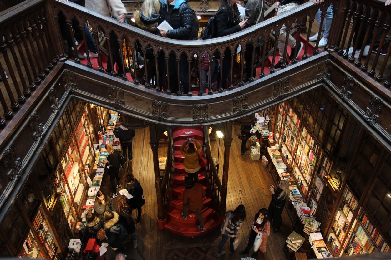Book Book Store Books Day Harry Potter Indoors  Library Local Shops People People Watching Red Wood Wood - Material