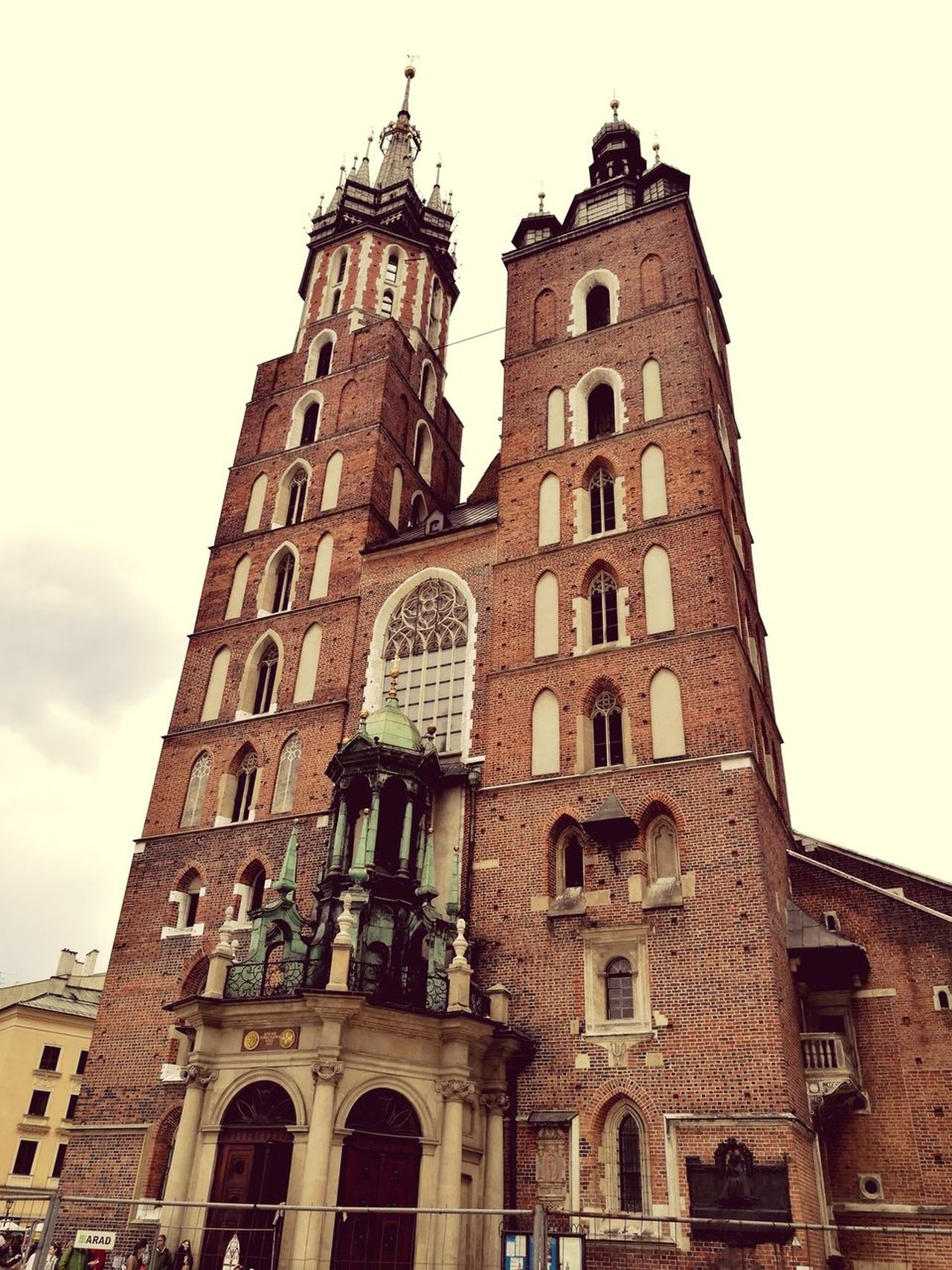 Architecture History Tower Travel Destinations Building Exterior Low Angle View Clock Built Structure Clock Tower Day Outdoors City No People Sky Clock Face Poland Kraków, Poland Main Square Old Buildings Old Town Katedral Krakowoldtown HuaweiP9 Neighborhood Map