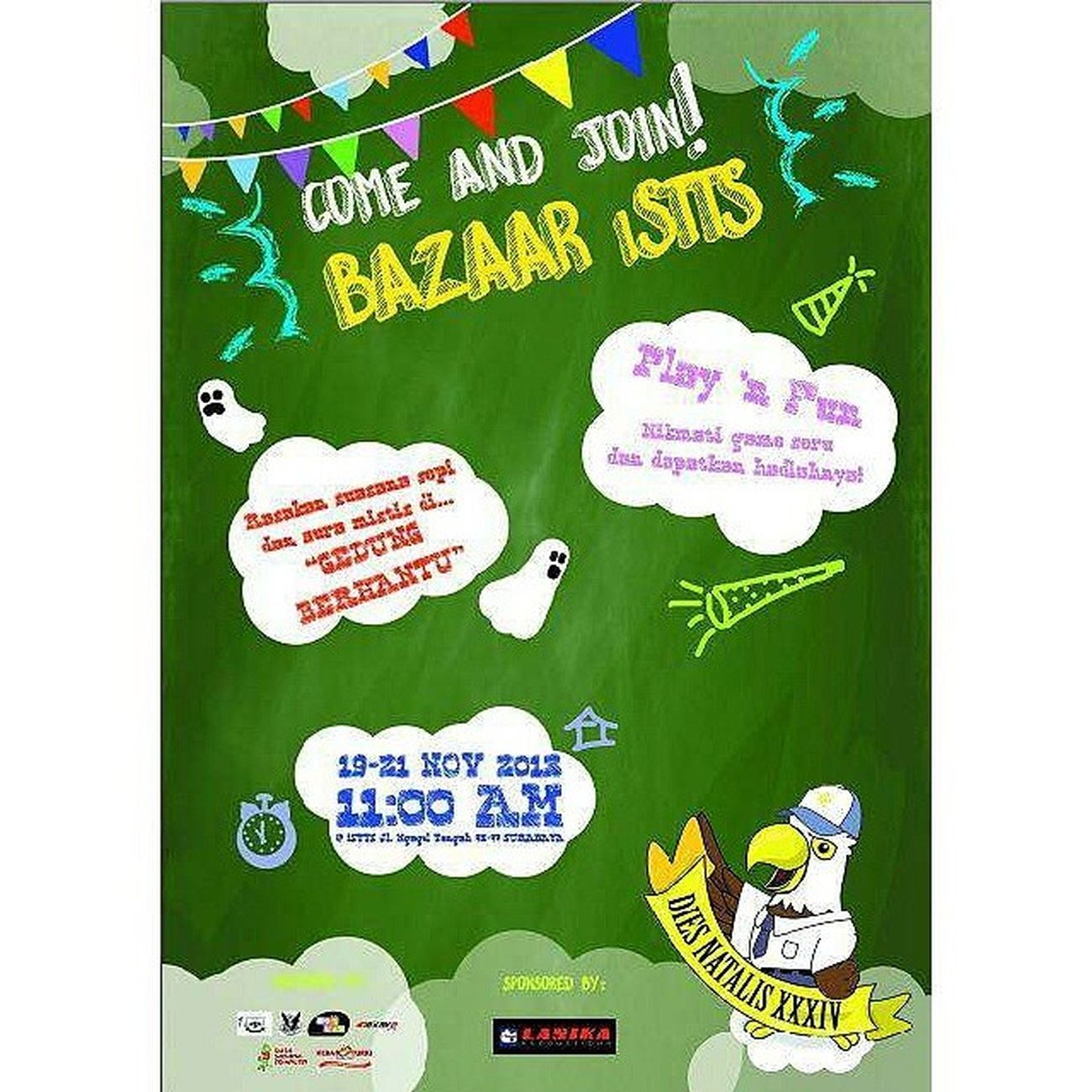 Come and join! BAZAAR iSTTS Bazaar Kampus  Diesnatalis Backtoschool