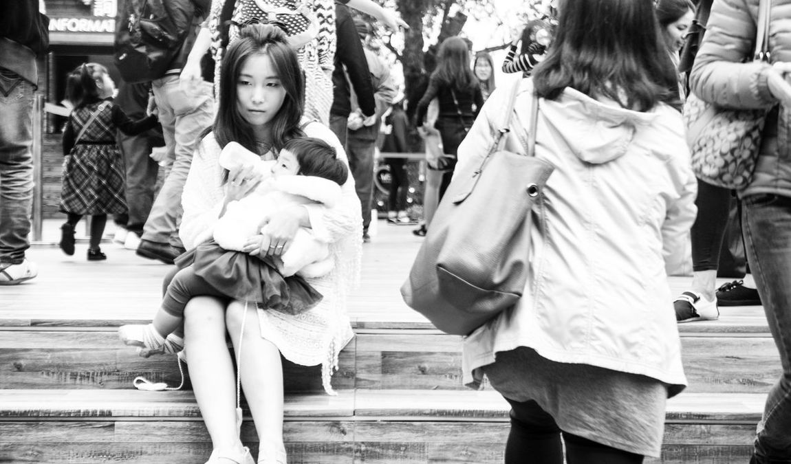 Fashion Store Retail  Outdoors Real People Clothing Store Leisure Activity Women Day Men Cultures People Adult Adults Only Women Around The World The Street Photographer - 2017 EyeEm Awards
