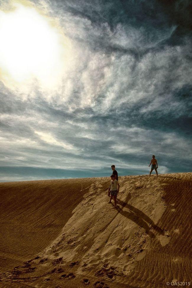 Kings of the dune. Qatar, Desert Middle East Desert First Eyeem Photo
