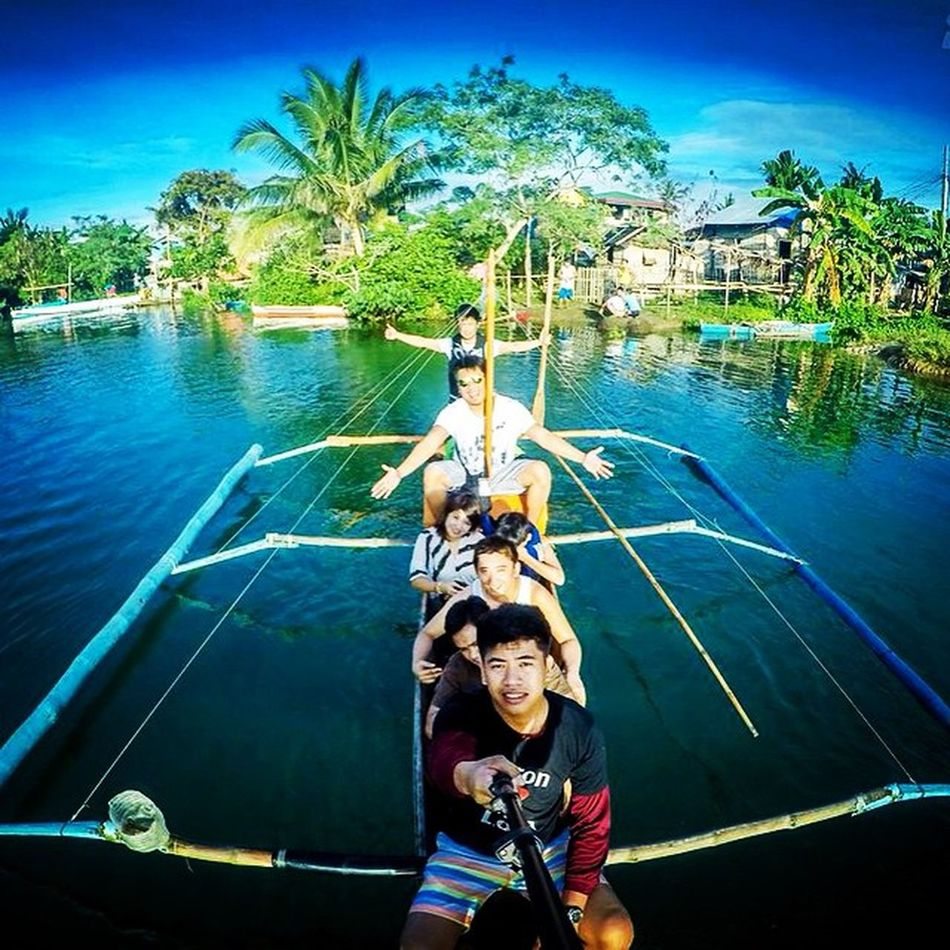 Off to dicasalarin via boatride. Family Boatride Earlymorn Goproph  Goprophilippines Goprophotography Baler