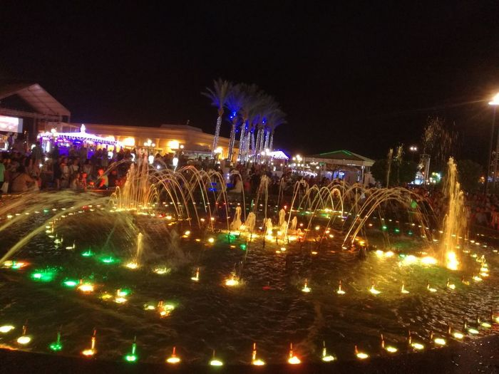 Dancing water Celebration Traditional Festival Celebration Event Night Outdoors Visit Egypt Sharm El-Sheikh Egypt Summer