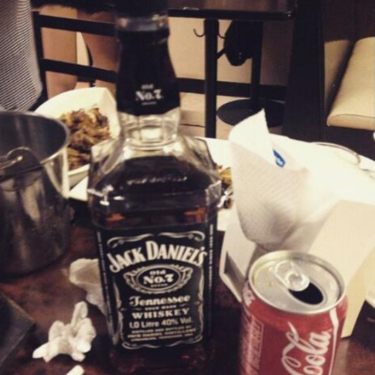 Perfect match. Jack & Coke. Gentlemanjack Oldjack Jackdaniels Bourbonwhiskey Whiskey Jackdanielswhiskey Jackandcoke