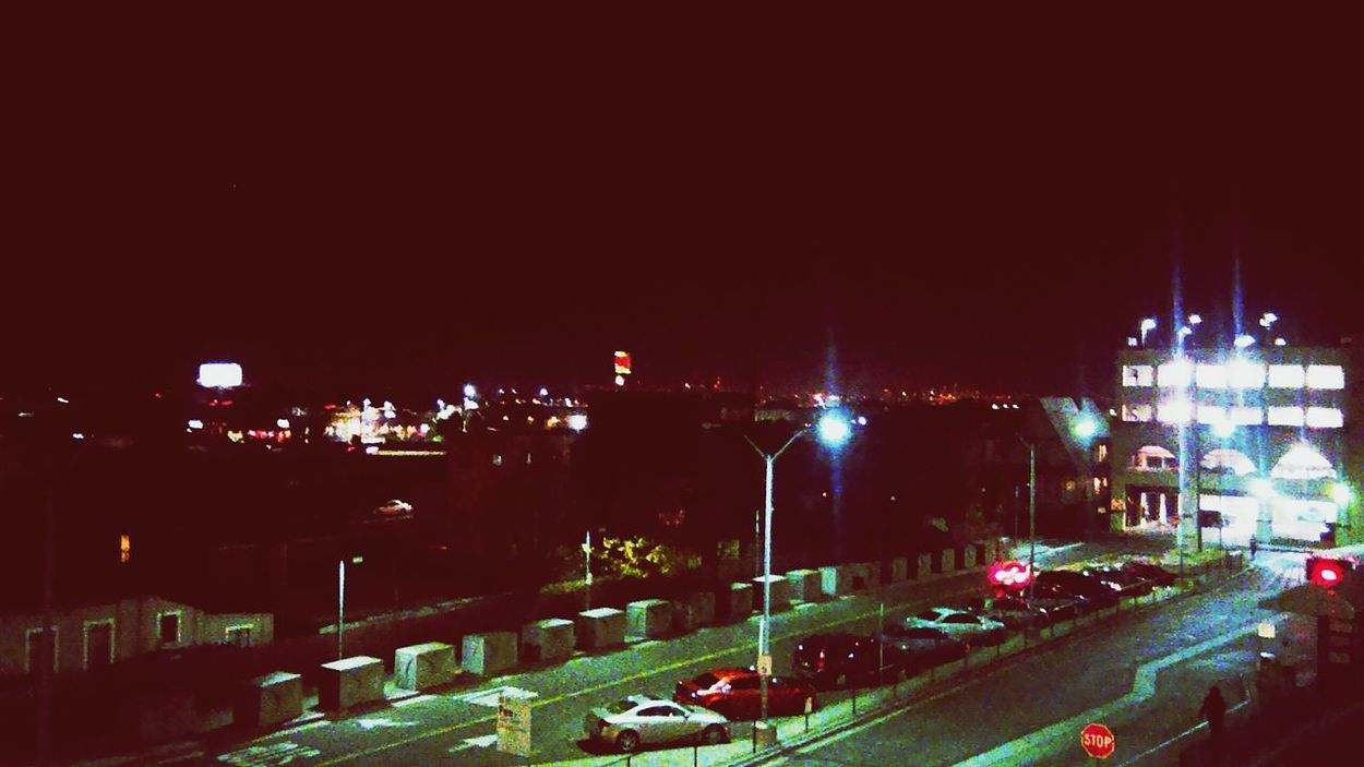 Oakland Night Lights City San Francisco Freeway