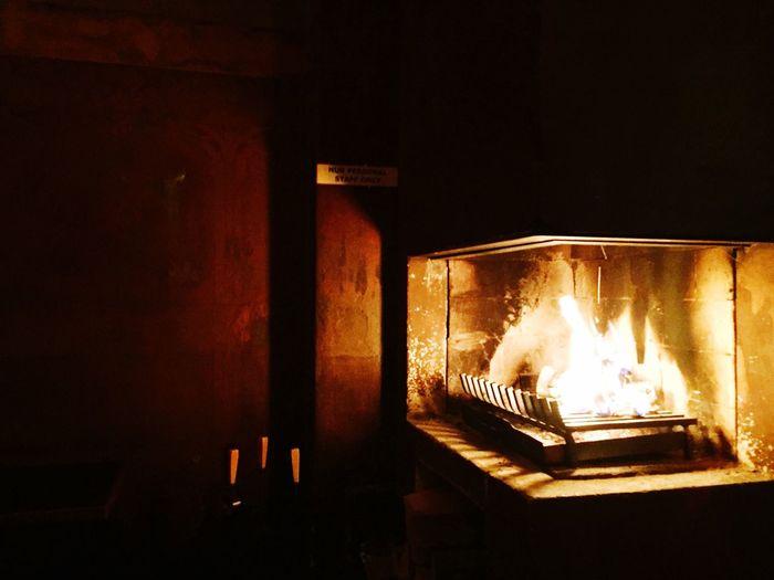 Berlin Fireside Winterwarmer Cosy Warmth Fire Home Is Where The Art Is