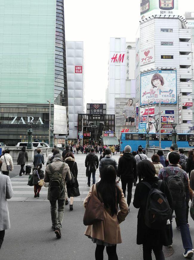 Street Photography Shinsaibashi Suji Osaka 心斎橋筋 Japan