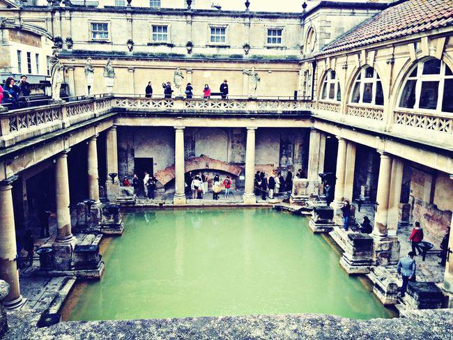 Bath Roman Bath United Kingdom Sightseeing #historicalsights