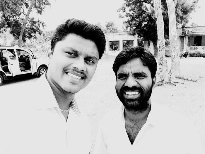 Myself and Elango anna at hub point✌🏿 First Eyeem Photo