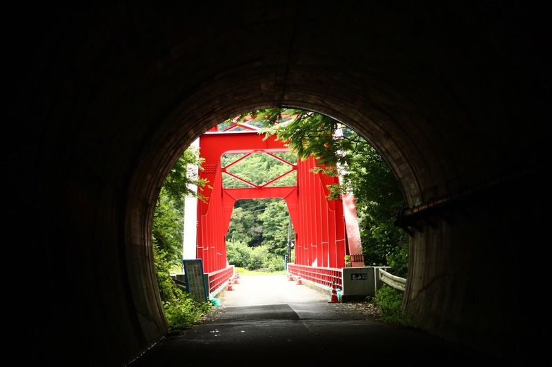Streetphotography Bridge Red Tunnel Hello World Going The Distance Light And Shadow Limited Space My Country In A Photo Snapshots Of Life The Magic Mission Landscapes Tunnel Vision Travel