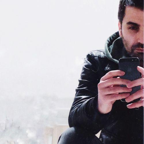 Mobile Phone One Person Otoportre Otoportrait Shotmyself Winter
