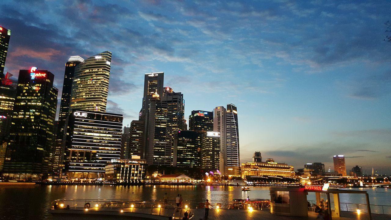 Showcase April Cityscape Bluesky@7pm.sg Simplyamazed Breathtaking Baywalk@marinabay