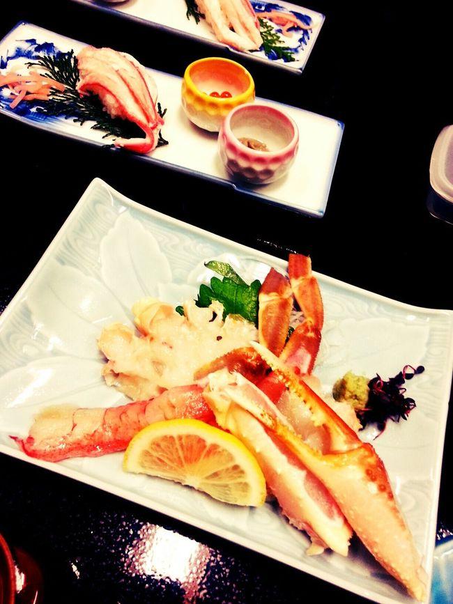 Enjoying Life Kinosaki Enjoying Life Winter Crab 蟹はとっても甘かった さいこーしあわせー