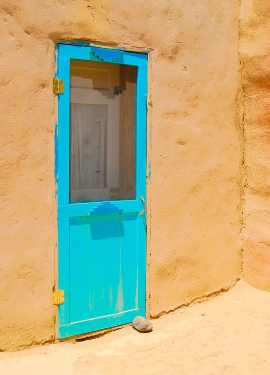 """""""In Through The Blue Door"""" Door Doors Doorporn Old Door Blue Door Adobe Adobe Building"""