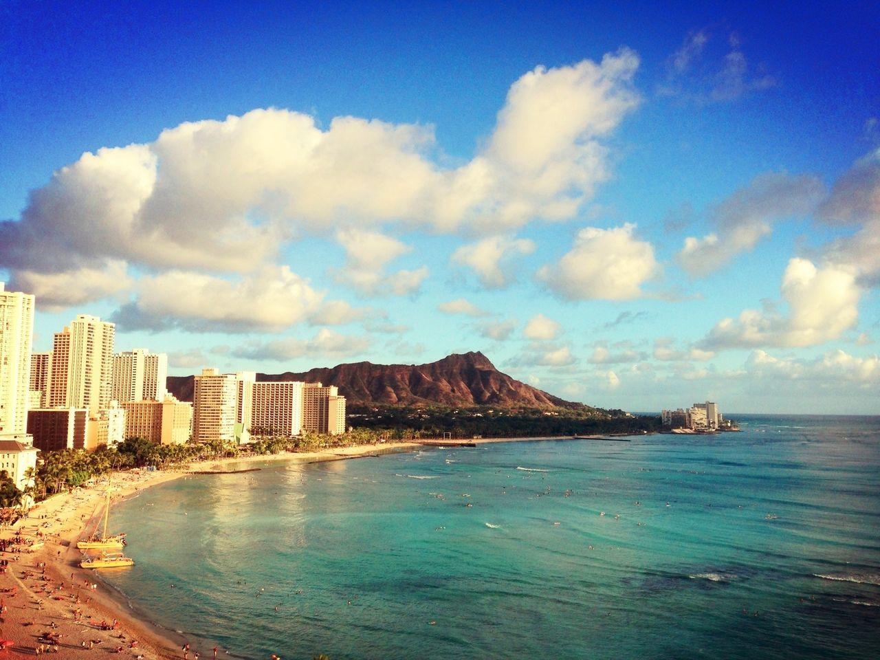 Hawaii Beauty Beach Taking Photos