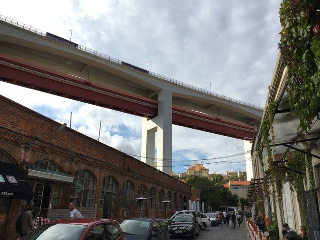 Portugal Lx Factory Bridge