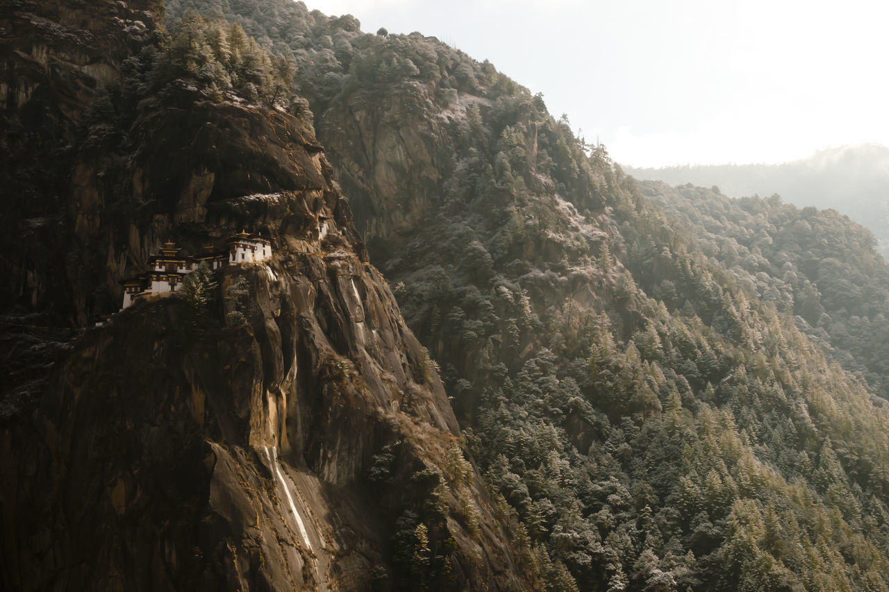 Taktsang Monastery (Tiger's Nest) - Bhutan Monastery Taktsang Taktsang Monastery Tiger's Nest Bhutan Mountain Paro