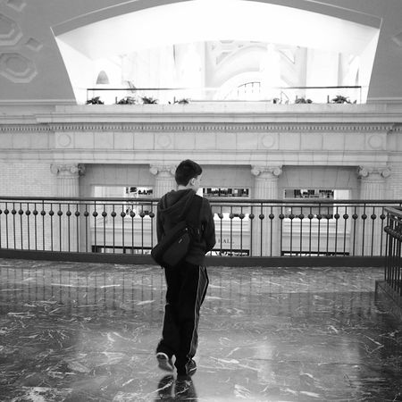 Union Station for an 8th grader. Black & White Blackandwhite Washington, D. C. Unionstation