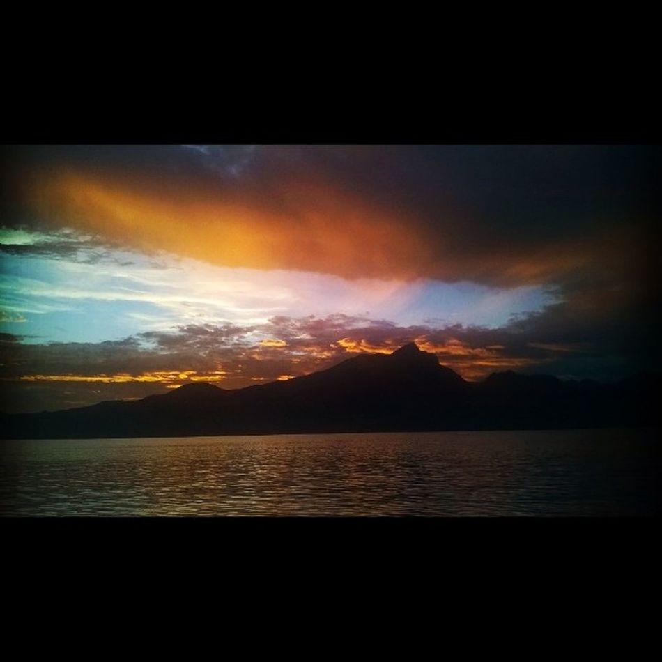 Tramonto Pazzesco Gardalake Sunset Instaclouds Instagood Pazzesco Lacalmadopolatempesta