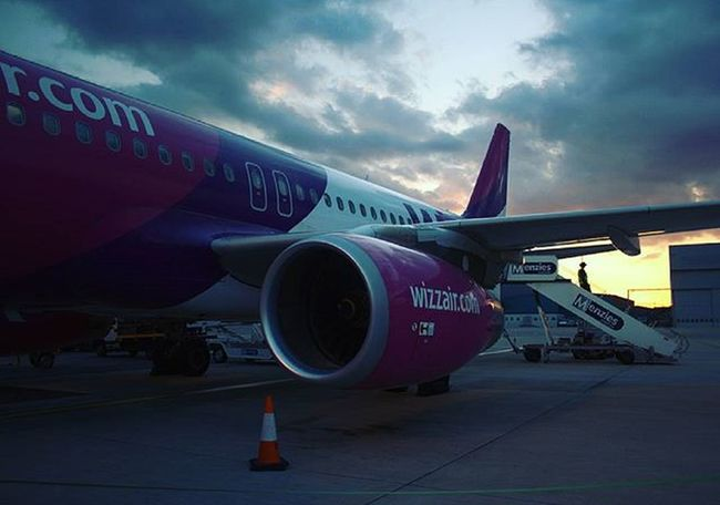 Luton Airport Wizz Wizzair Aircraft Airbus A320