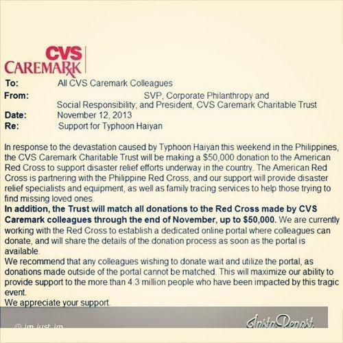 Sobrang nakakatouched!!! Thankyou CVSCaremark YolandaPh GenerousAccount