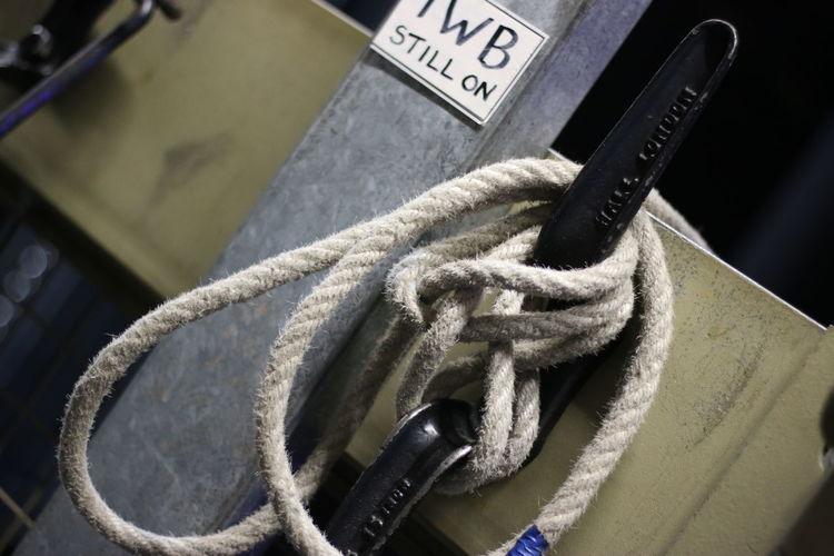 Ducting Metal Rope Work Working