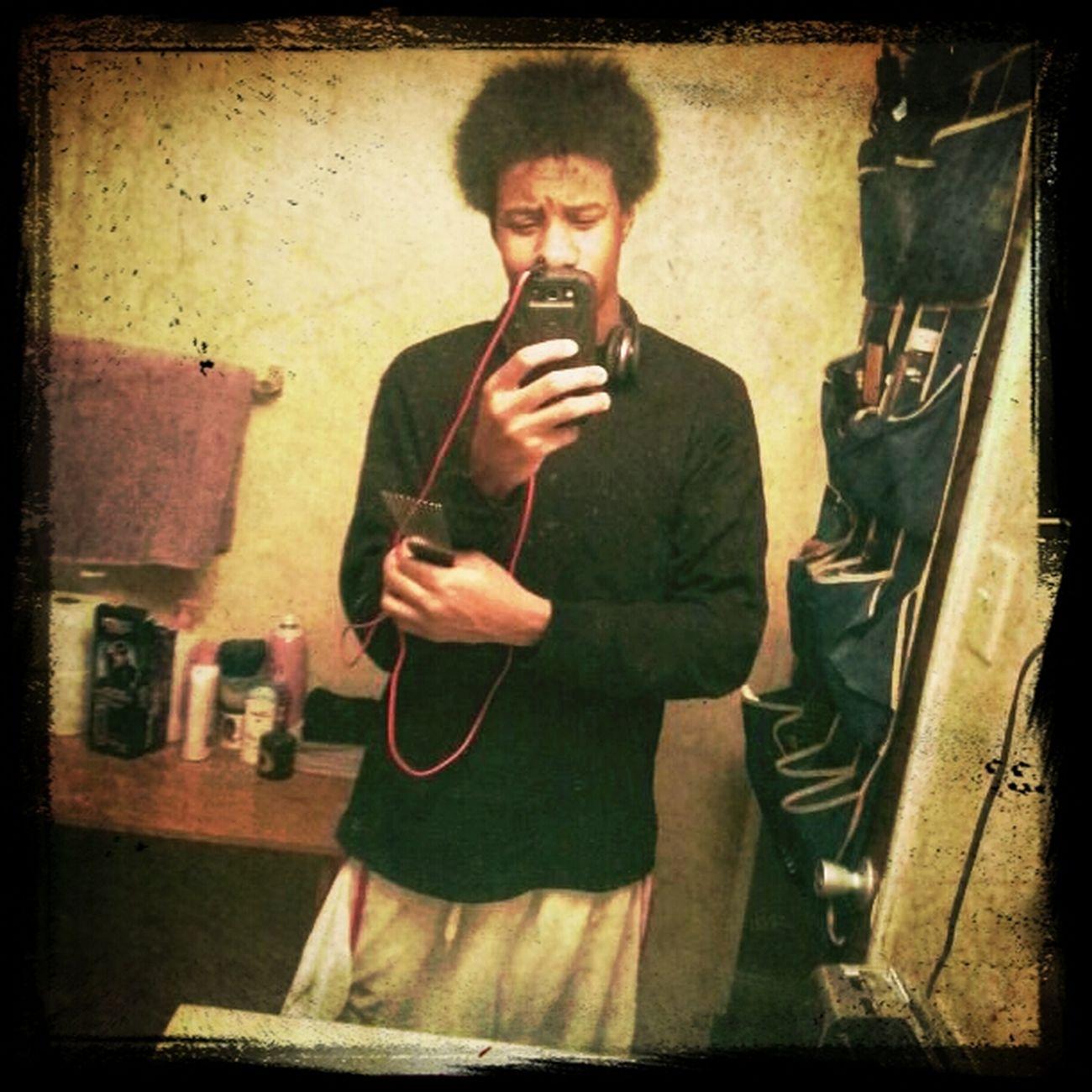 wild hair ..afro nigga Fro