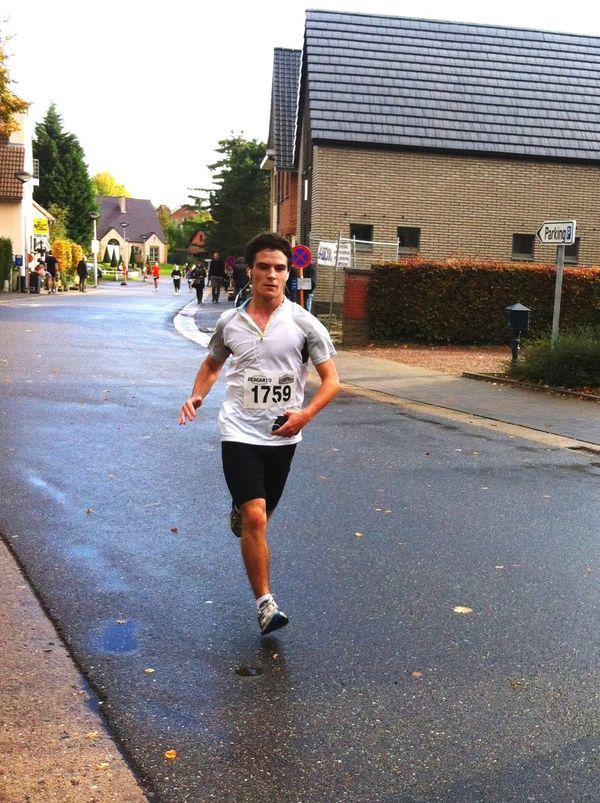 15km run