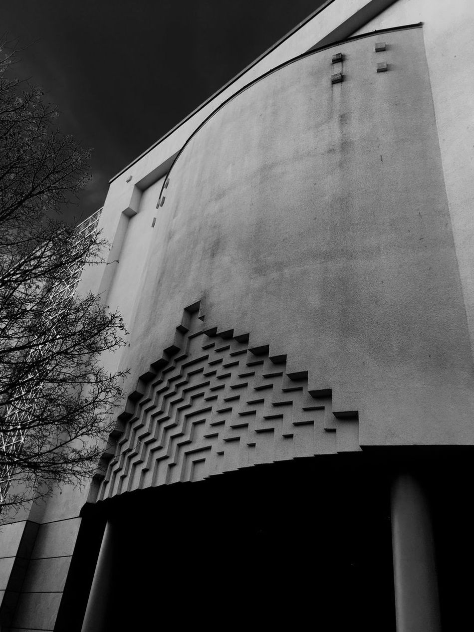 'OsloMosque' Building Exterior Architecture Built Structure No People Low Angle View Outdoors City Day Beautiful Day Urbexphotography Winter Has Come Mosque Holy Places Praying Time B&W Urbex Winter2016 ❄ Sky Architecture_collection B&W Collection Oslo, Norway Urbanphotography Wintertime Quickshots KariJosefiné✨