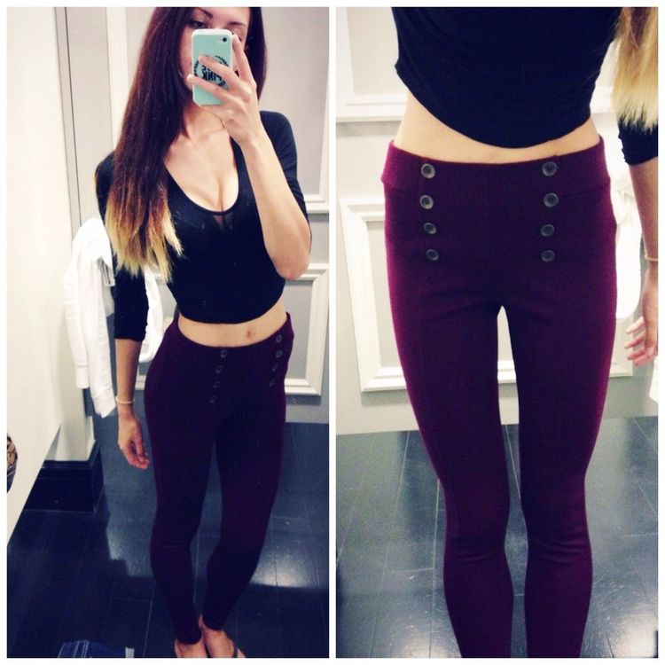 totally wanted these pants but they were a medium