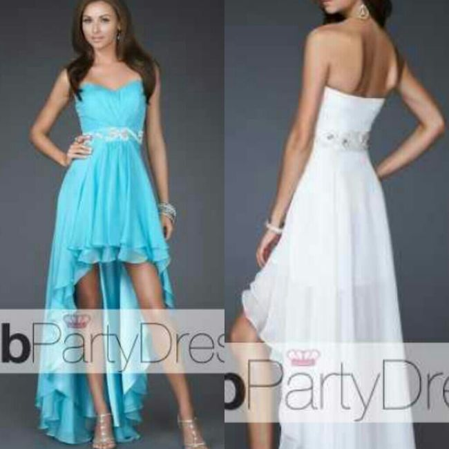 same dresss just the front and bck