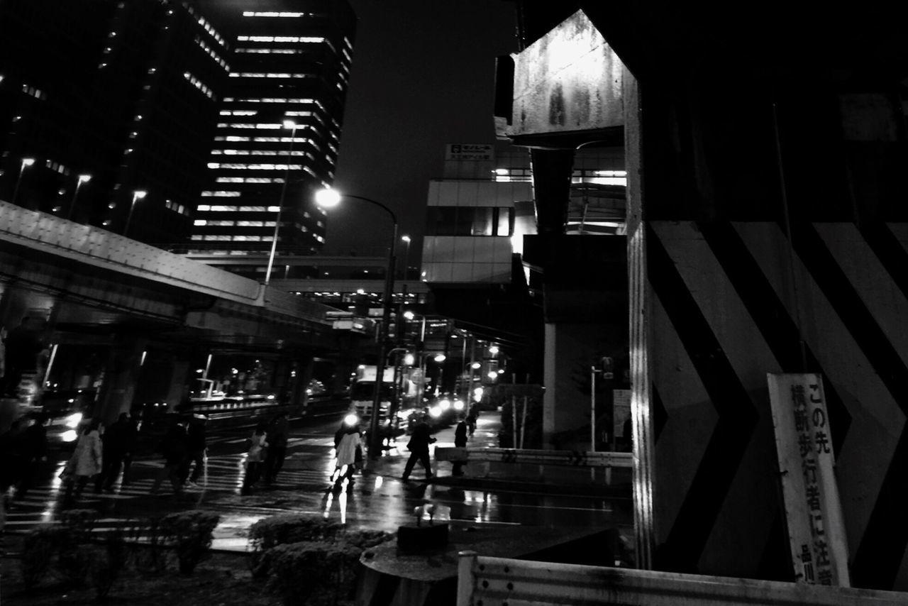 Tadaa Community Black & White Tokyo 天王洲アイル Good Night Friends ;))