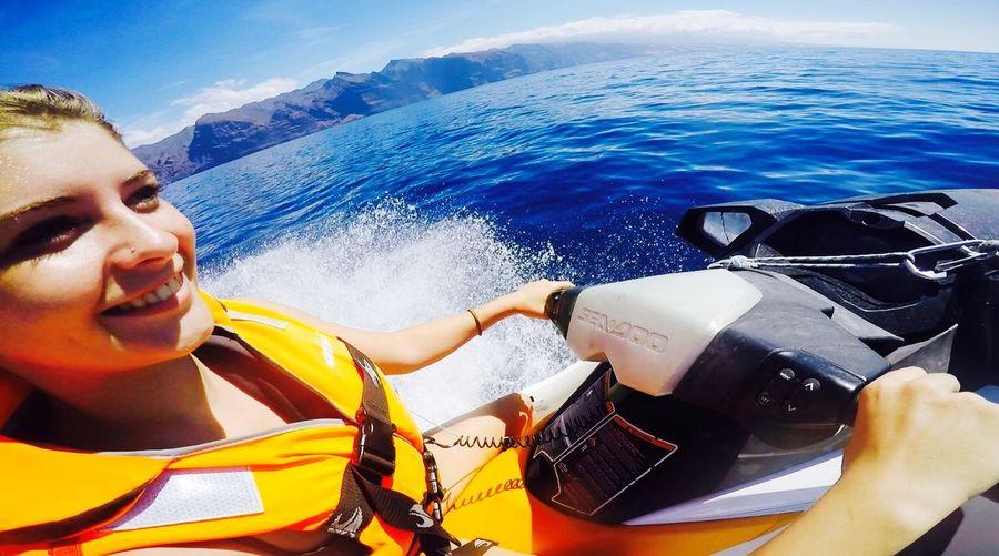 LosCristianos Waterbike Water Smile Happy Ocean Watersports Sport
