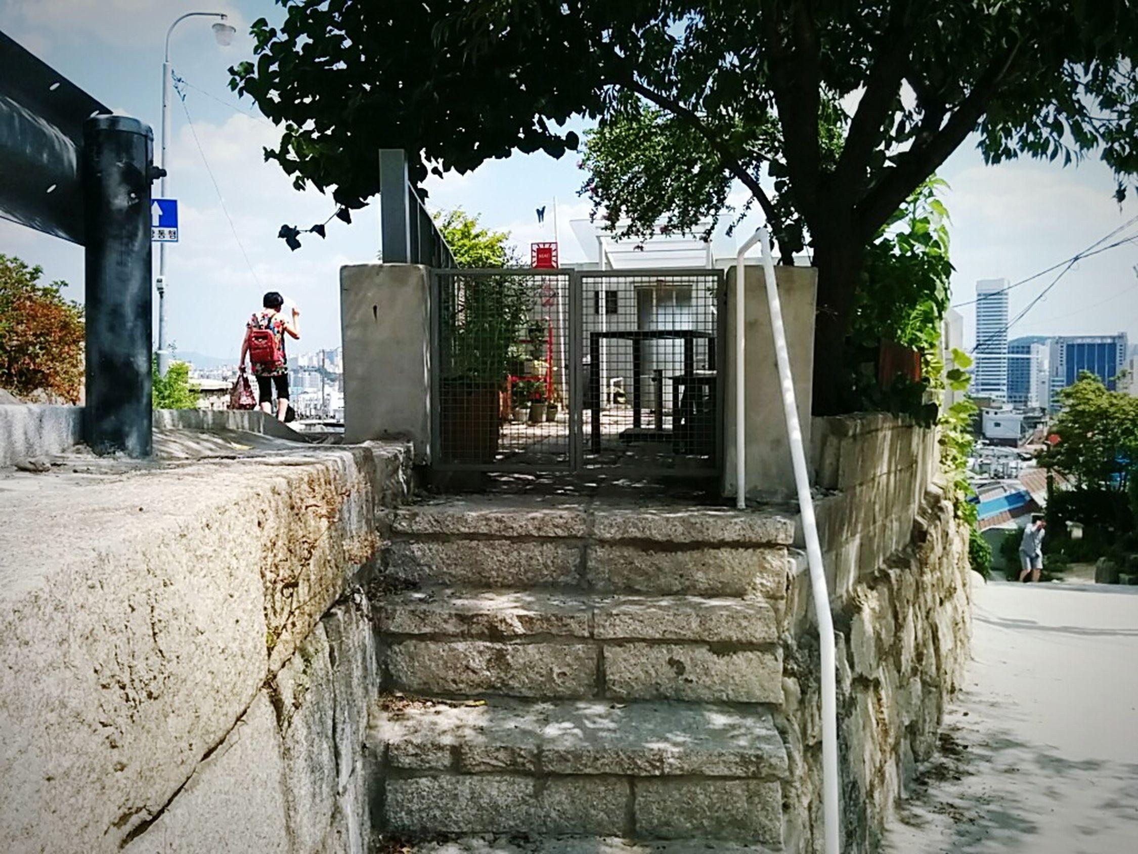 Narrow Homestead Castle Walls 서울성곽길 이화동