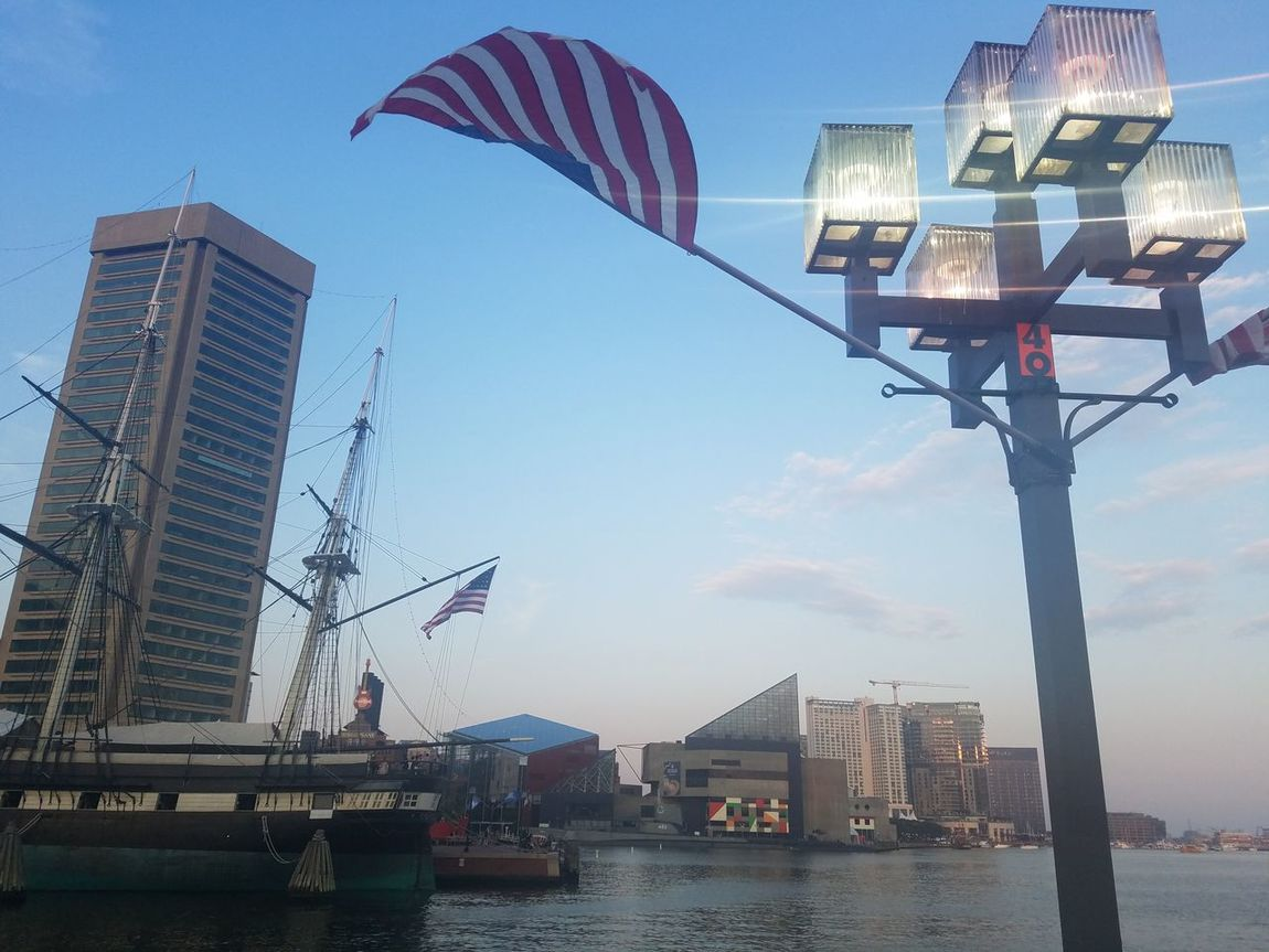 Inner Harbor... Baltimore Maryland American history...... Hanging Out Check This Out Hello World Relaxing Hi! Enjoying Life Sun Shining Down On Me City Streets  City Streets View City Lights Enjoying Life That's Me Taking Photos Having Fun