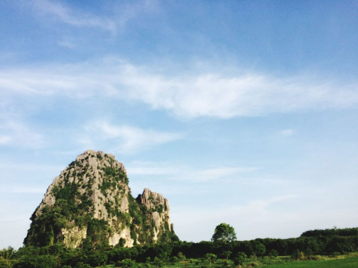 👌🏻👌🏻👌🏻🍃🌲🌲 Nature Sky Blue Sky Rock Mountain Pure Thailand Travel Fresh Comeon