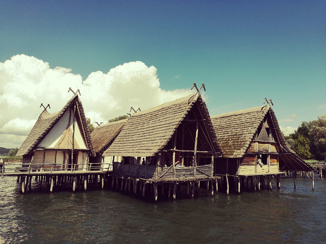 water, built structure, sky, architecture, outdoors, day, waterfront, tranquility, no people, sea, tranquil scene, nature, cloud - sky, building exterior, scenics, beauty in nature