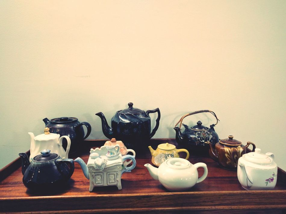Tea Pots Food And Drink Different Styles Crafts Lieblingsteil