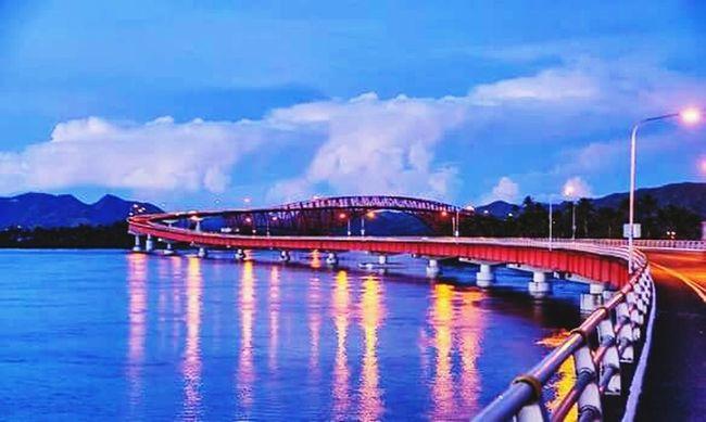 Longest bridge in philippines Sanjuanicobridge Tacloban, Philippines