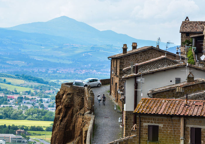 Human Settlement Italy Landscape Orvieto, Italy Residential Building Tourism TOWNSCAPE Travel Travel Destinations