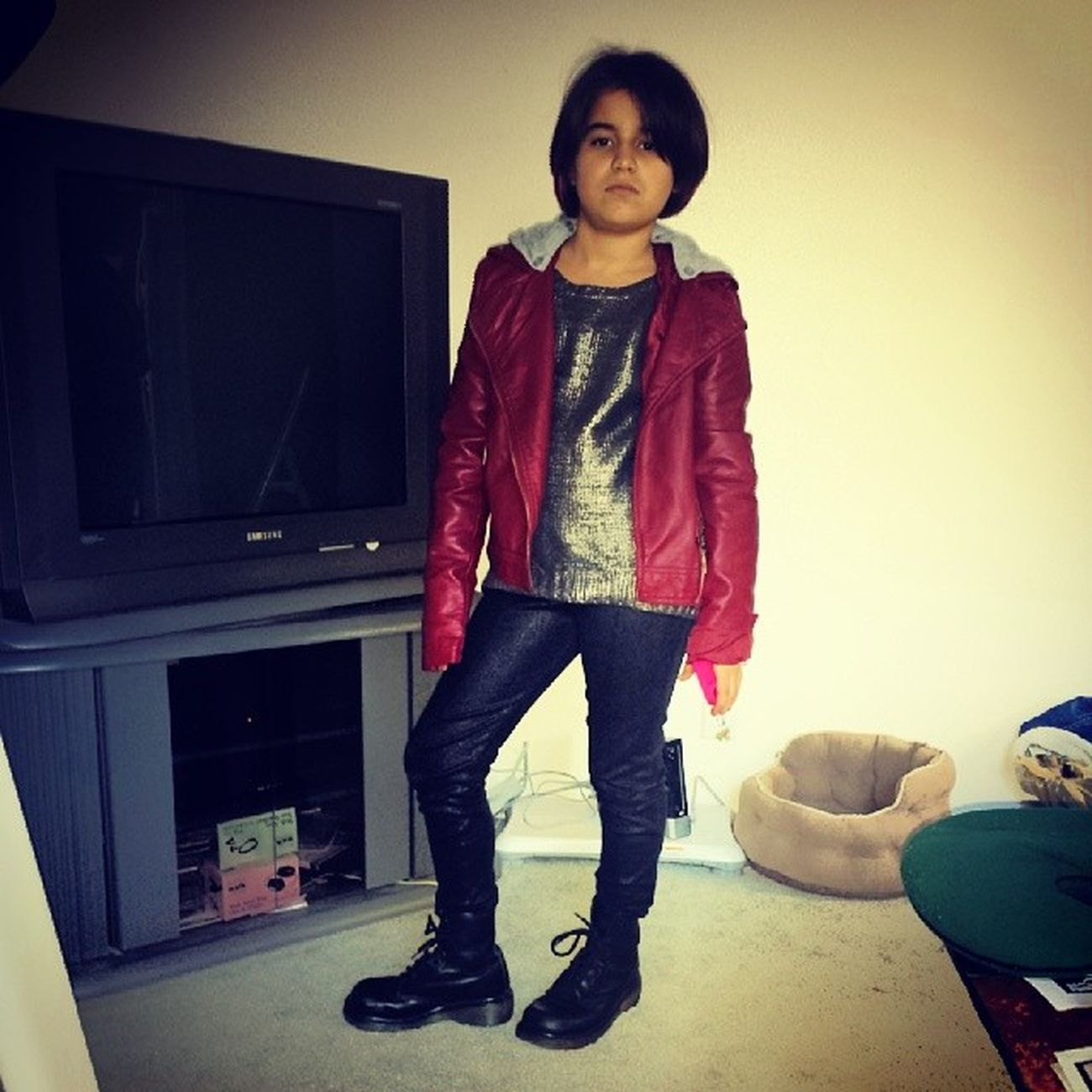 Ang's sweet thrift store find in Sequim (the boots). Drmartens Madeinengland Kidsbop Britishrockstar