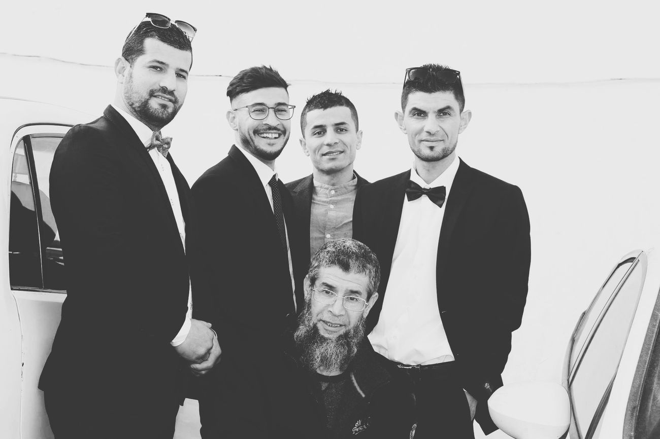 Looking At Camera Only Men Black And White Photography HelloEyeEm Wedding Ceremony Having Fun :) Cousins ❤ Mydad<3 Feeling Happy Smile ✌