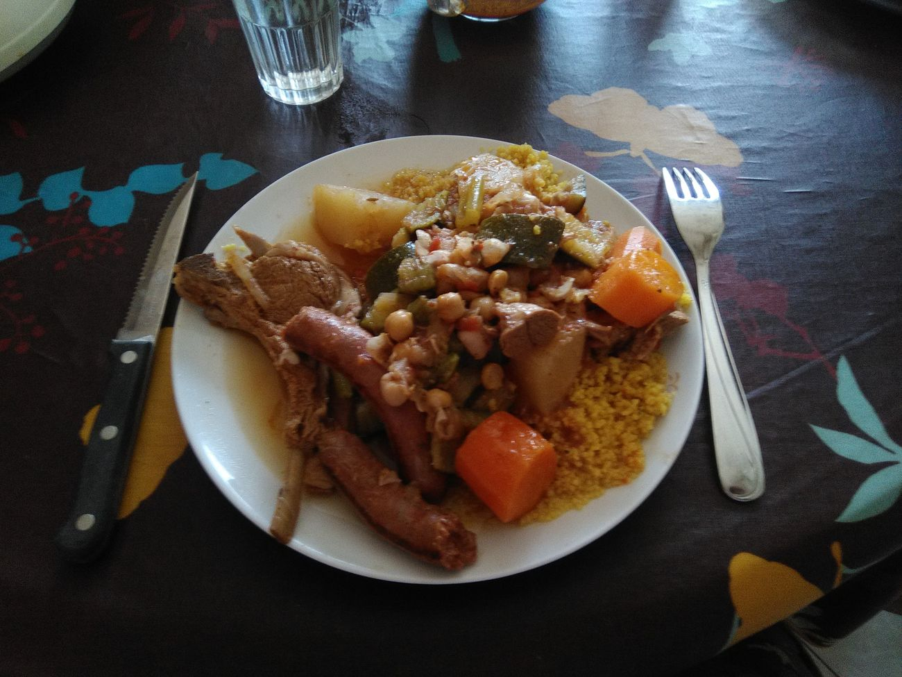 Couscous Time  Couscous Maison Food And Drink Food Plate Ready-to-eat Temptation Cooked