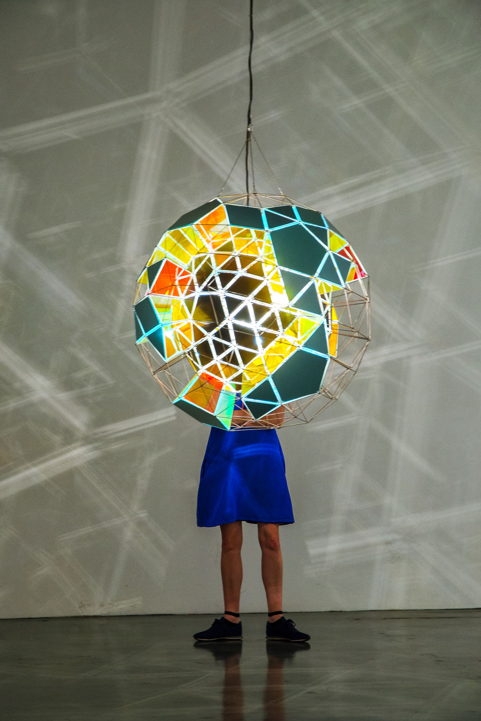 Multi Colored One Person Istanbulmodern modern Standing People Light