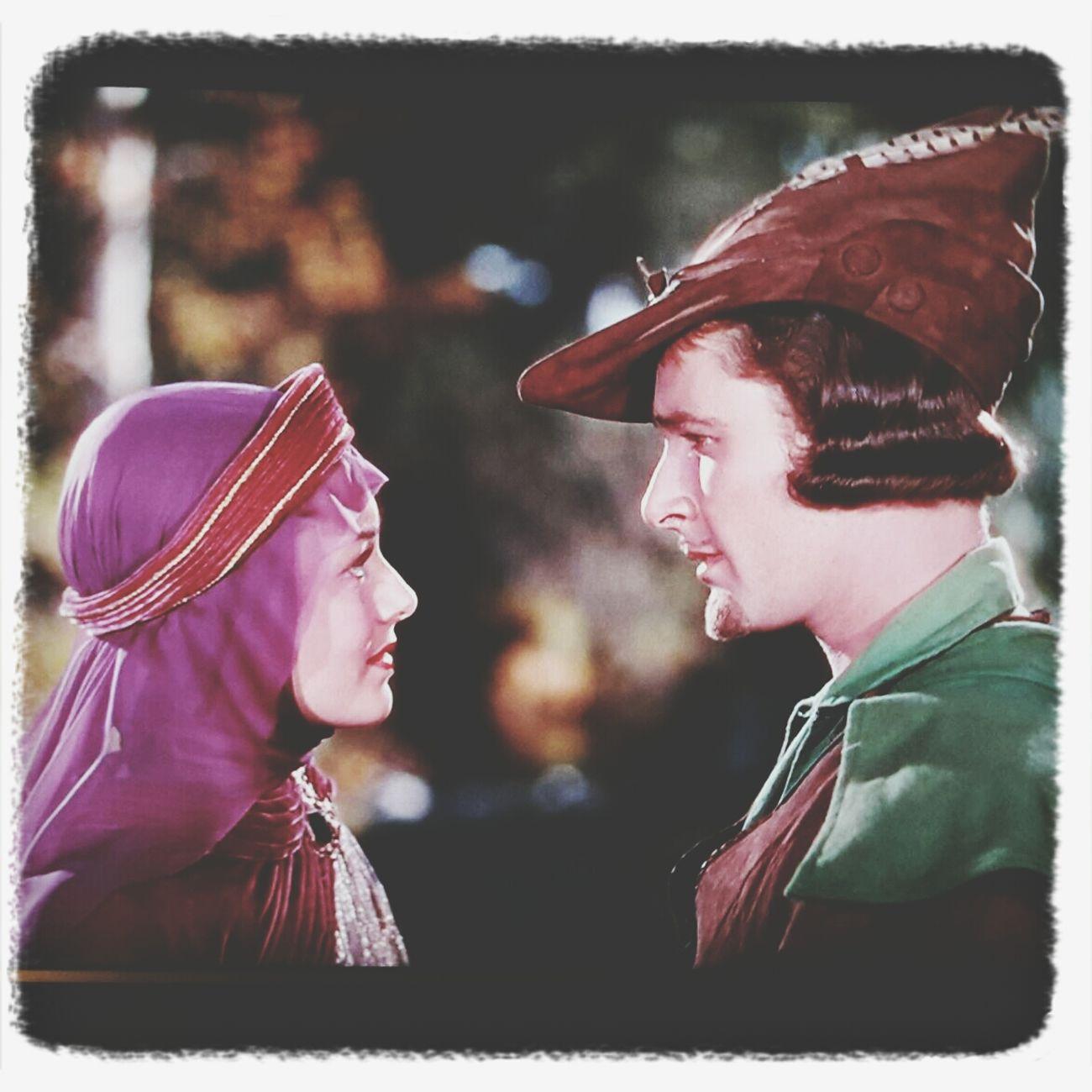 watching tv Watching Tv Robin Hood Olivia De Havilland Errol Flynn ☺