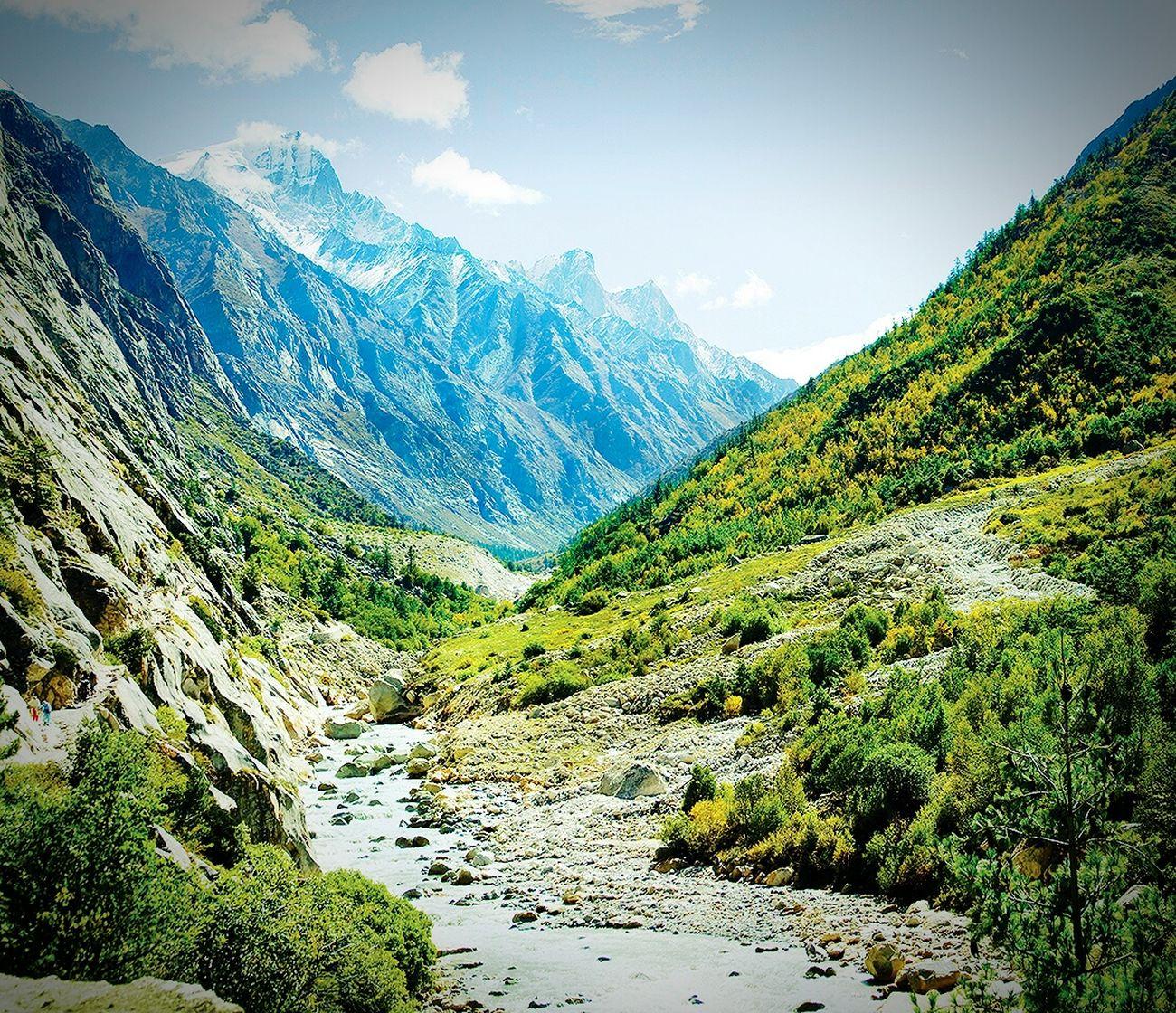 Gangotri panaramic Himalayas Mountain Himalayas Himalayan Range HimalayaScape Gangotri Panaramic First Eyeem Photo