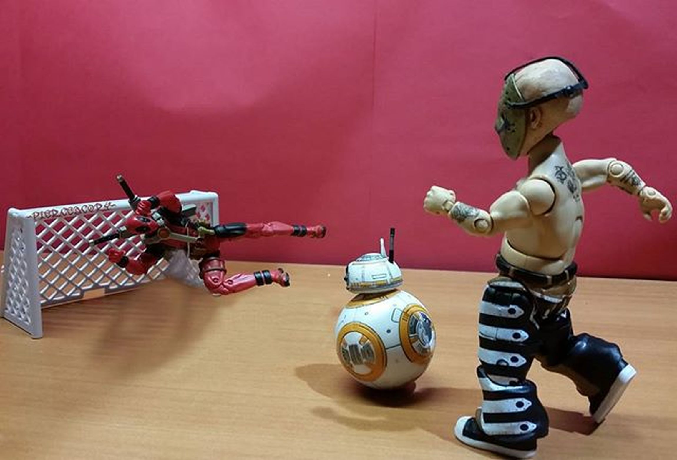 A new version of Kick the can. Hahah Minivorhees Deadpool Bb8 Tcb_bb88 Toyplanet_challenge_phoneonly Onechamp