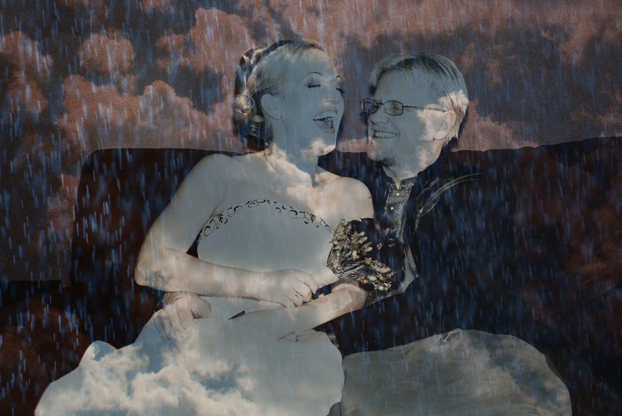 Laughter Live, Love, Laugh Wedding Day Promises  Always Laugh When You Can !♡ Love During The Storms Fun Interesting Edit I Do Symbol Ideas Double Exposure Light Abstract Love Without Boundaries